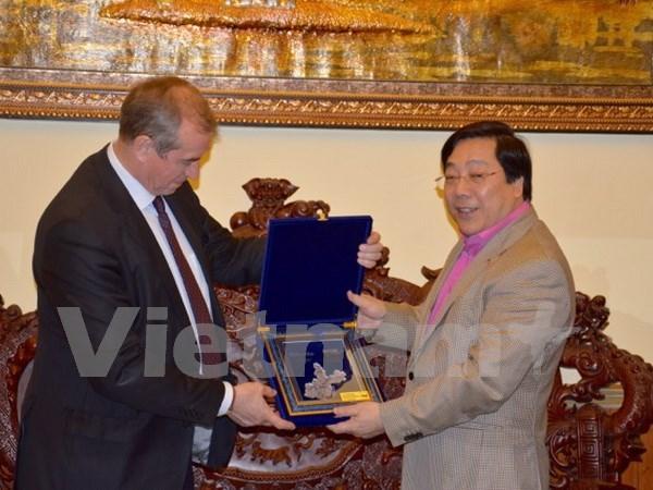 Buscan fomentar cooperacion entre localidades vietnamitas y rusas hinh anh 1