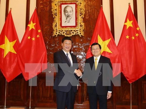 Declaracion conjunta Vietnam – China hinh anh 1