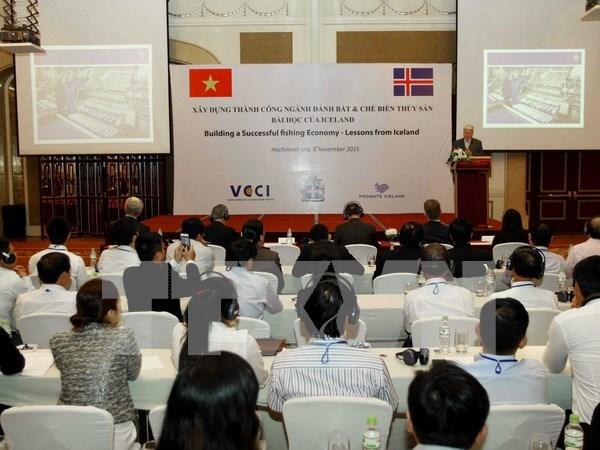 Comparten Vietnam e Islandia experiencias en pesca hinh anh 1