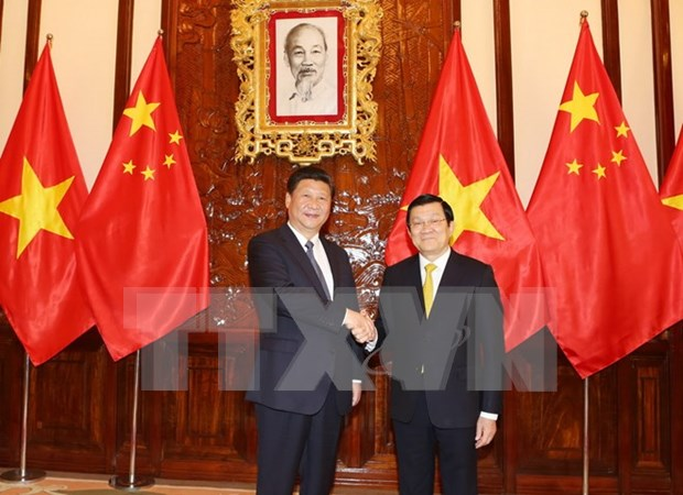 Reitera Vietnam determinacion de forjar cooperacion con China hinh anh 1