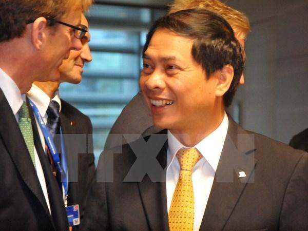 Conferencia de Cancilleres de ASEM emite Declaracion de Presidente hinh anh 1