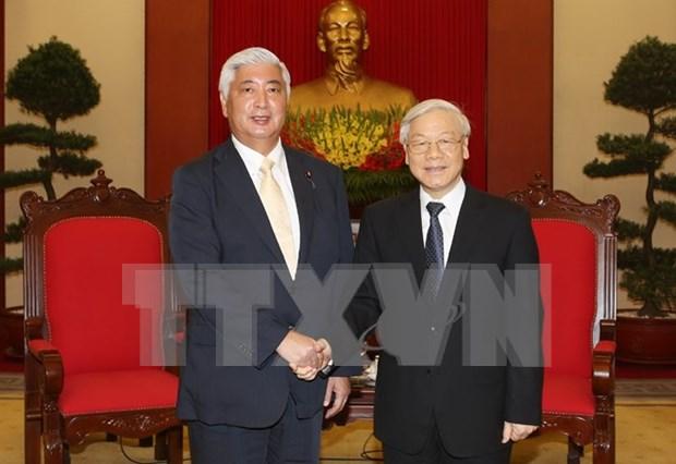 Japon desea fortalecer nexos en defensa con Vietnam, afirma ministro hinh anh 1