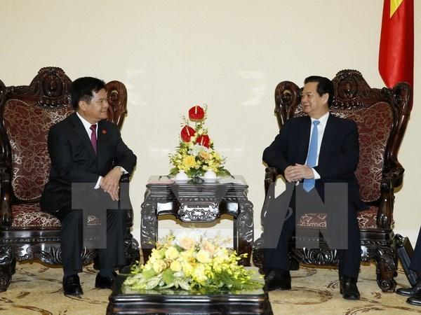 Premier recibe a secretario del Comite Partidista de Yunnan hinh anh 1