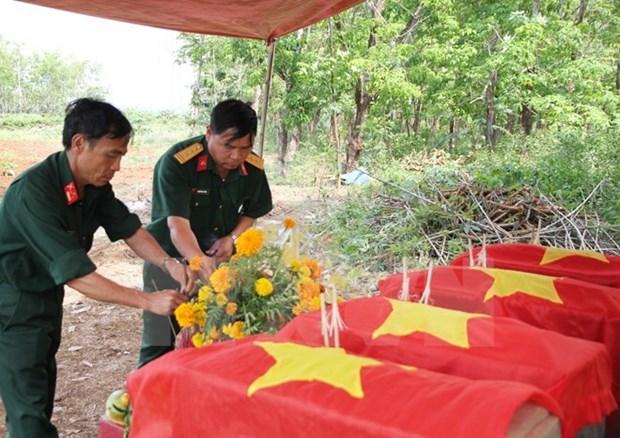 Respaldan expertos argentinos a Vietnam en identificacion de martires hinh anh 1