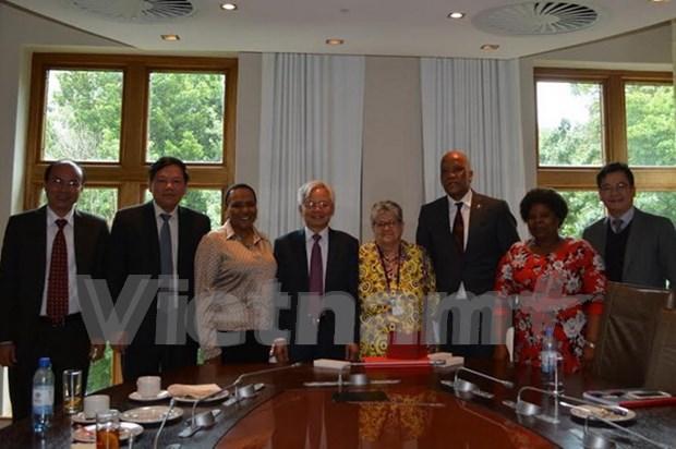 Fomentan Vietnam y Sudafrica cooperacion en formacion hinh anh 1