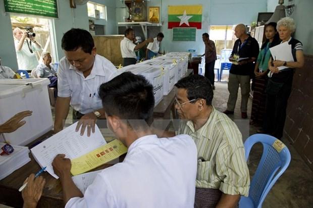 Elecciones birmanas: partido opositor podra ganar 90% de votos hinh anh 1