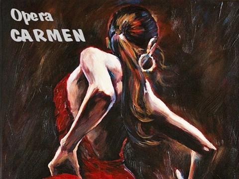 """Rasgos espanoles en """"Carmen"""" hipnotizan al publico vietnamita hinh anh 1"""
