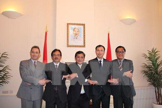 Instituyen Comite de ASEAN en La Haya hinh anh 1