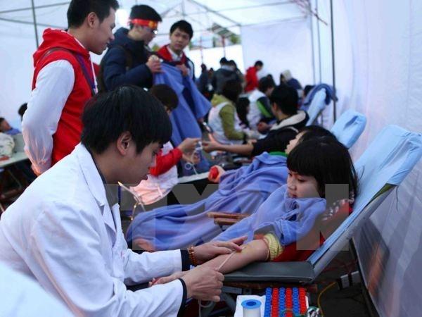 Efectuan en Hanoi seminario sobre donaciones voluntarias de sangre hinh anh 1
