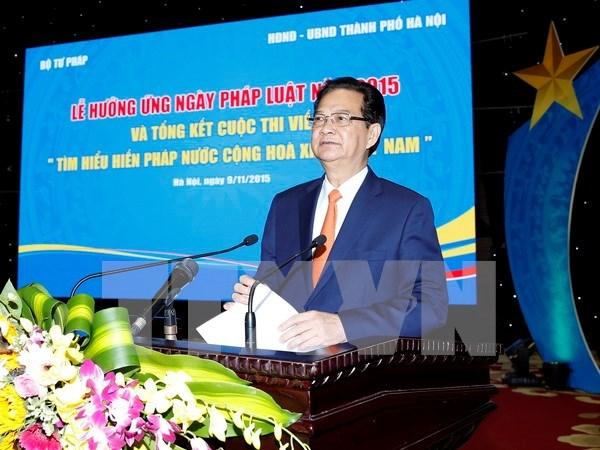 Vietnam conmemora Dia Nacional de la Ley hinh anh 1