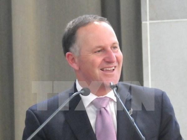 Premier neozelandes efectuara visita a Vietnam hinh anh 1