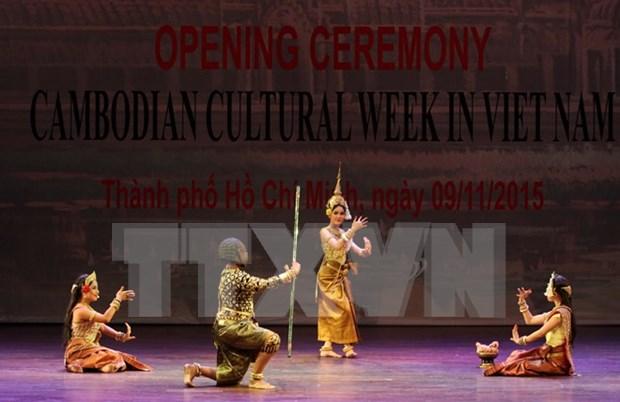 Efectuan en Ciudad Ho Chi Minh semana cultural cambodiana hinh anh 1