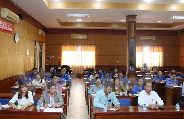 Comienza primer curso de idioma vietnamita para funcionarios laosianos hinh anh 1