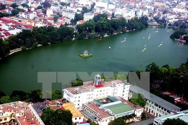 Hanoi avanza en su objetivo de convertirse en ciudad verde hinh anh 1