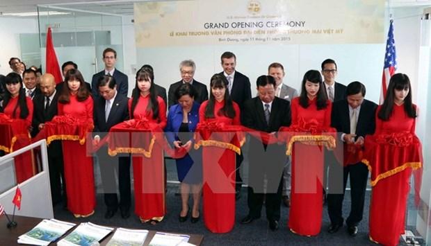 Establecen oficina comercial Vietnam- Estados Unidos en Binh Duong hinh anh 1