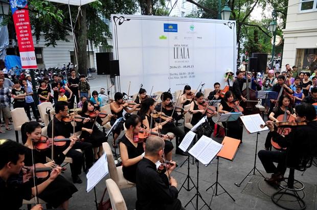 Concierto a cielo abierto Luala Concert amenizara calles capitalinas hinh anh 1