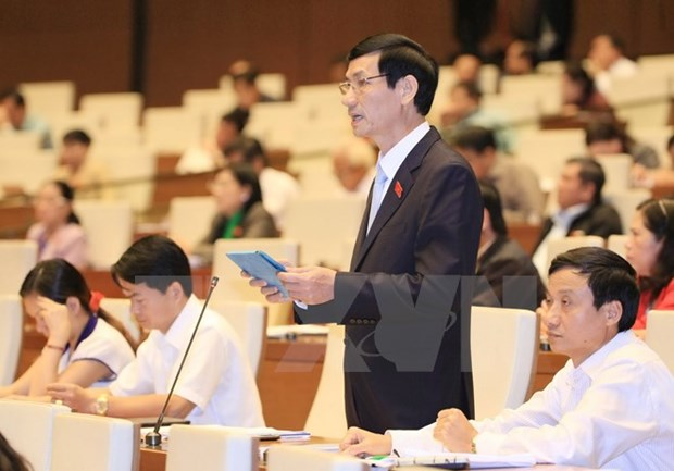 Parlamento refrenda borrador de resolucion sobre programa de objetivos hinh anh 1