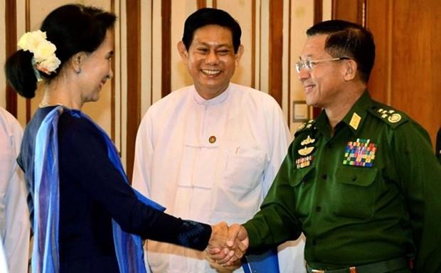 Myanmar: Ejercito se compromete a trabajar con nuevo gobierno hinh anh 1