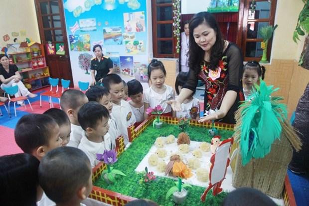 Considera Vietnam elevacion de edad infantil a 18 anos de edad hinh anh 1