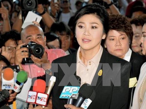 Yingluck defiende su programa de subsidios al arroz hinh anh 1