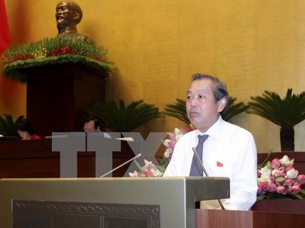 Vietnam y China comparten experiencias en reforma judicial hinh anh 1