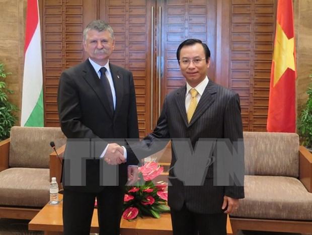 Visita Da Nang delegacion del parlamento hungaro hinh anh 1