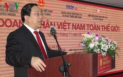 Celebran en Rusia conferencia de empresarios vietnamitas en el mundo hinh anh 1