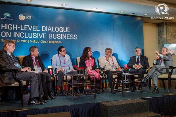 APEC discute negocios inclusivos en Filipinas hinh anh 1