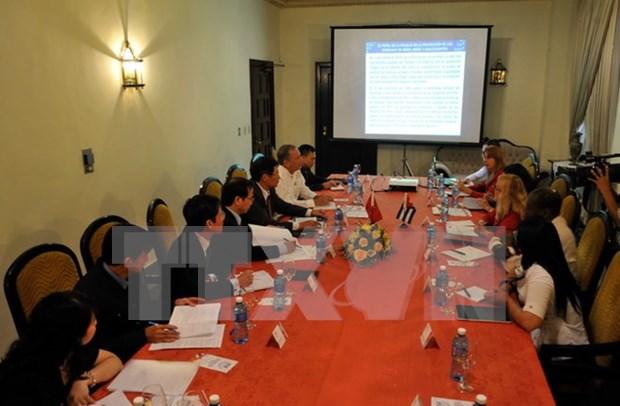 Fiscalias vietnamita y cubana intercambian experiencias profesionales hinh anh 1