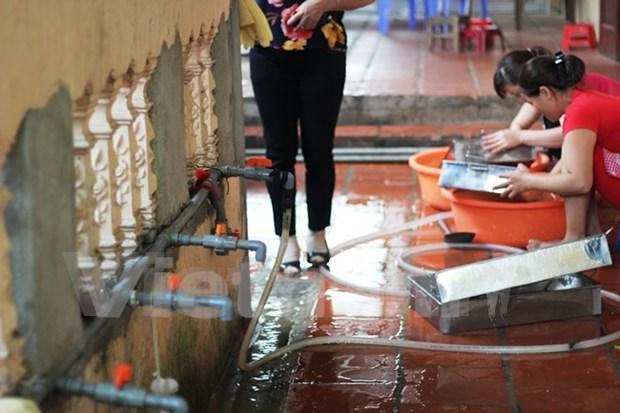 Prestamo de BM ayuda a millones de vietnamitas acceder a agua potable hinh anh 1