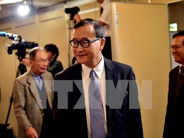 Tribunal cambodiano emite orden de arresto contra lider opositor hinh anh 1