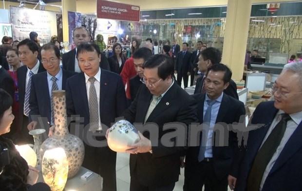Organizan Feria de productos vietnamitas en Rusia hinh anh 1