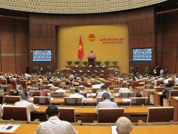 Parlamento aprueba resolucion sobre asignacion de presupuesto central en 2016 hinh anh 1