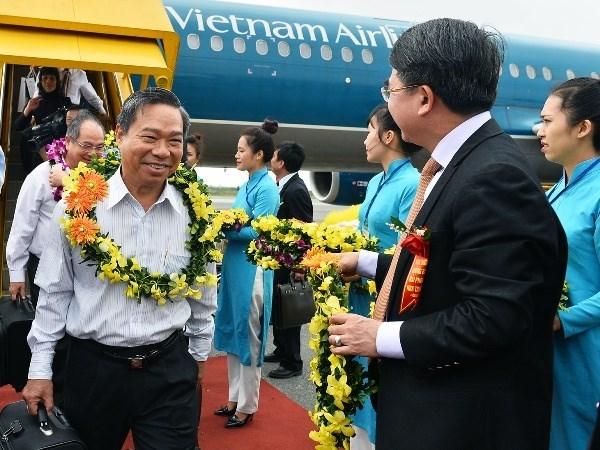 Entrada en operacion ruta aerea Nha Trang-Hai Phong hinh anh 1