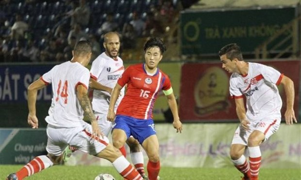 Club brasileno gana torneo internacional de futbol en Vietnam hinh anh 1