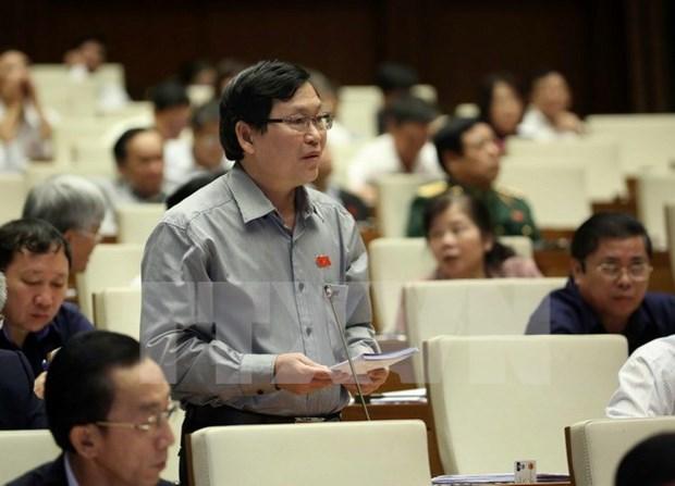 Parlamento vietnamita interpela a titulares de rama agricola y comercial hinh anh 1