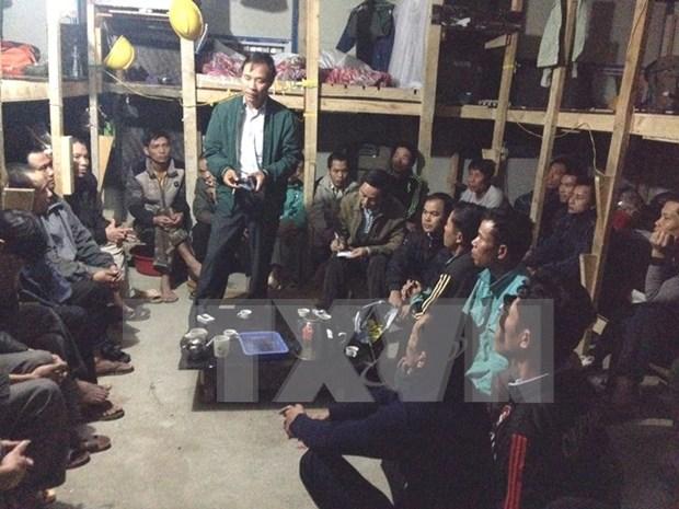 Regresaran al pais primeros 13 empleados vietnamitas en Argelia hinh anh 1