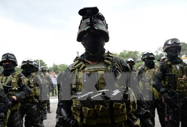 Filipinas intensifica seguridad ante la Cumbre de APEC hinh anh 1