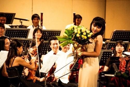 Luala Concert, un deleite de musica clasica en calles de Hanoi hinh anh 1
