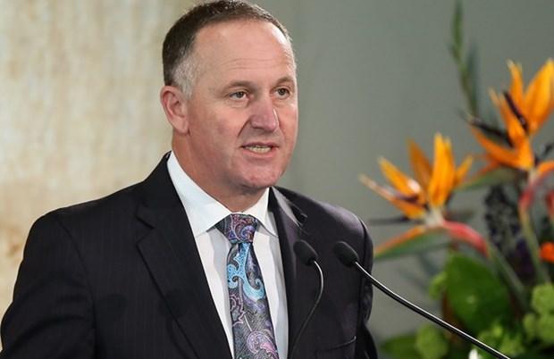 Concluye primer ministro neozelandes visita a Vietnam hinh anh 1