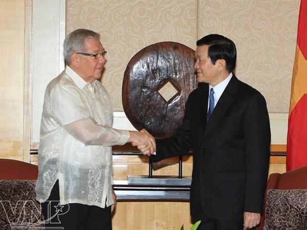 Vietnam aboga por mejorar cooperacion multifacetica con Filipinas hinh anh 1