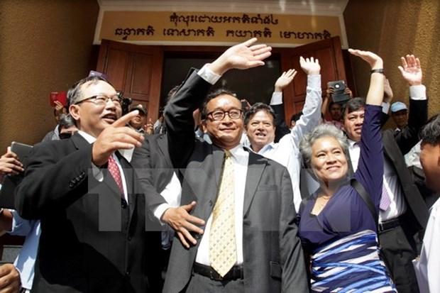 Cambodia: lider opositor retrasa regreso para evitar condena de prision hinh anh 1