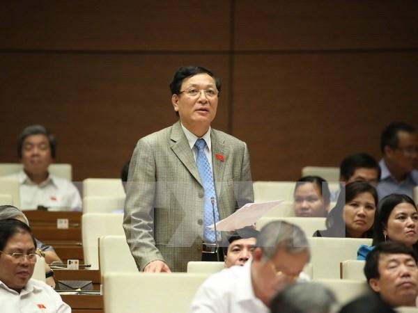 Ministros vietnamitas rinden cuenta ante Parlamento hinh anh 1