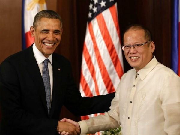 EE.UU. y Filipinas apoyan soluciones pacificas para disputas maritimas hinh anh 1