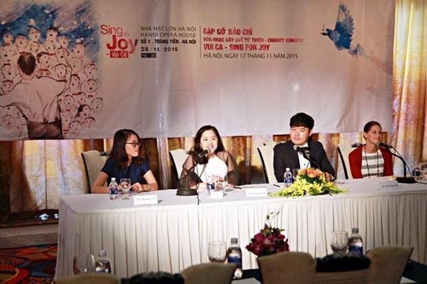 Coros de 15 paises amenizaran velada musical en Hanoi hinh anh 1