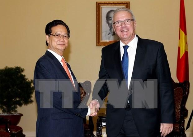 TLC empujara cooperacion entre Vietnam y la UE hinh anh 1