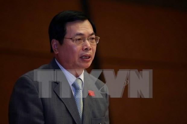 Tres vicepremieres y 13 titulares sectoriales comparecen ante parlamento hinh anh 4