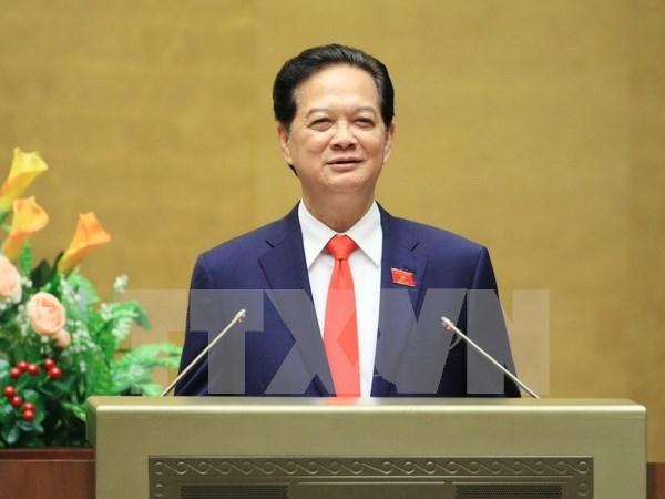 Rinde cuenta primer ministro de Vietnam al Parlamento hinh anh 1