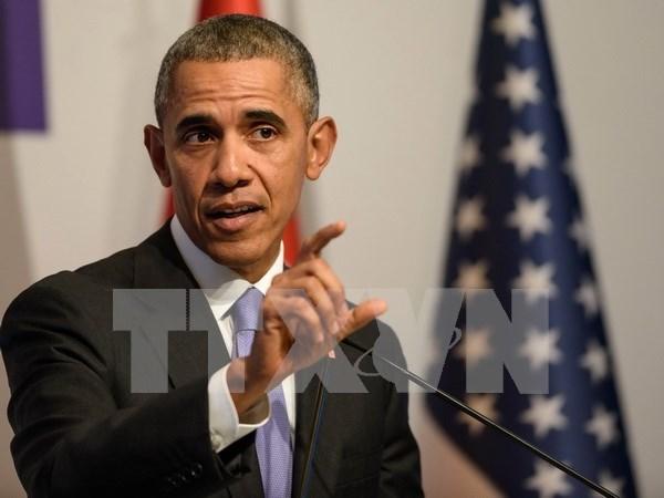 Obama confia en ratificacion del TPP antes de que concluya su mandato hinh anh 1
