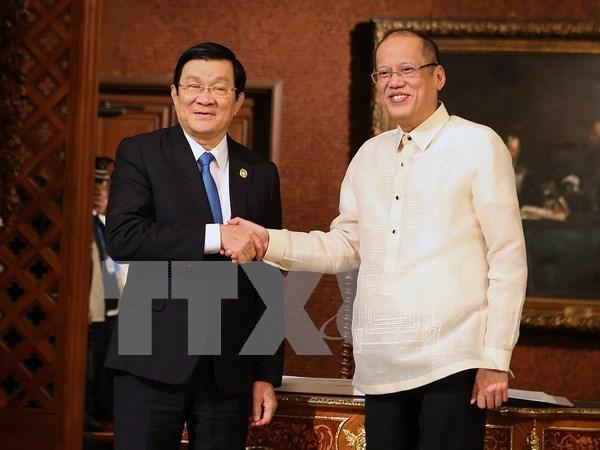Vietnam reitera apoyo a Filipinas para su participacion en TPP hinh anh 1